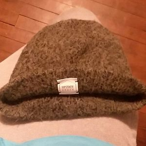 Upstate Stock wool beanie style winter hat